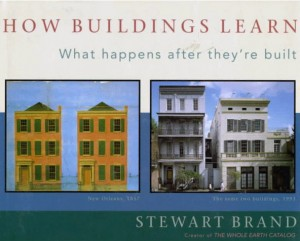 Stewart Brand, How buildings learn, book cover.