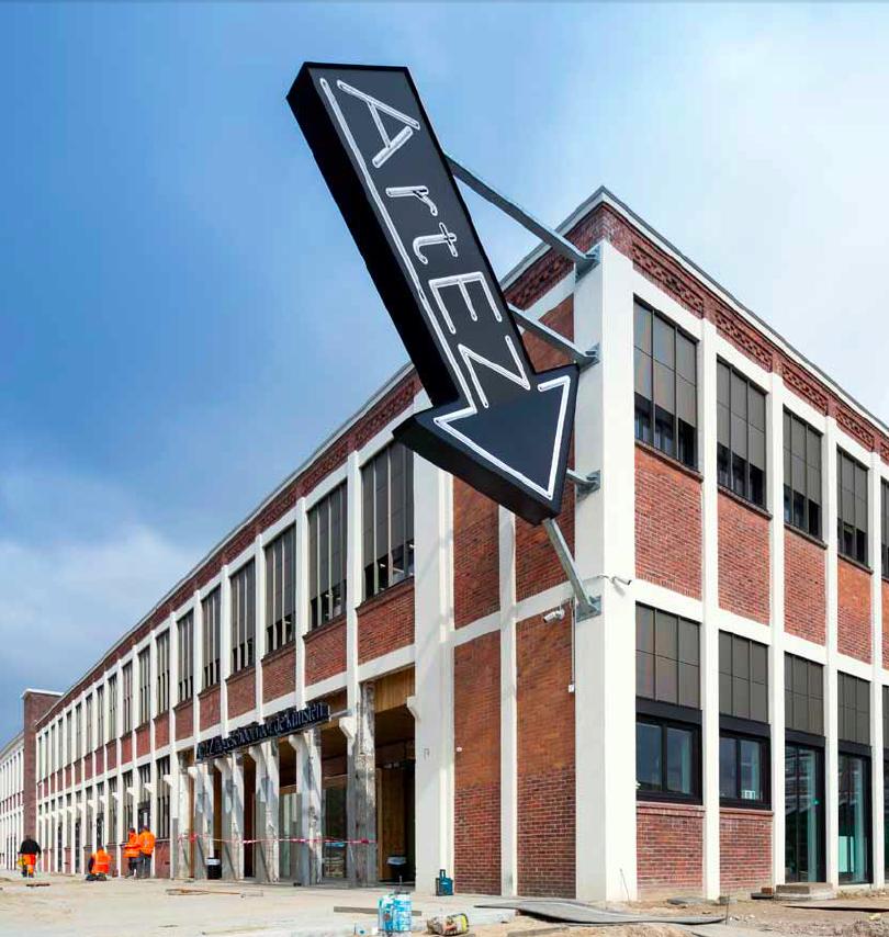 Kunstfabriek Artez Enschede. foto: Imre Csany/DAPh