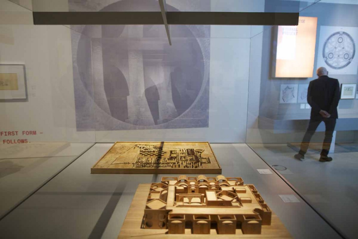 Tentoonstelling Louis Kahn - The Power of Architecture. Foto Carel van Hees