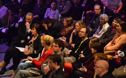 Rotterdamse Debatklas 2012 de Unie. foto: Roos Poelman