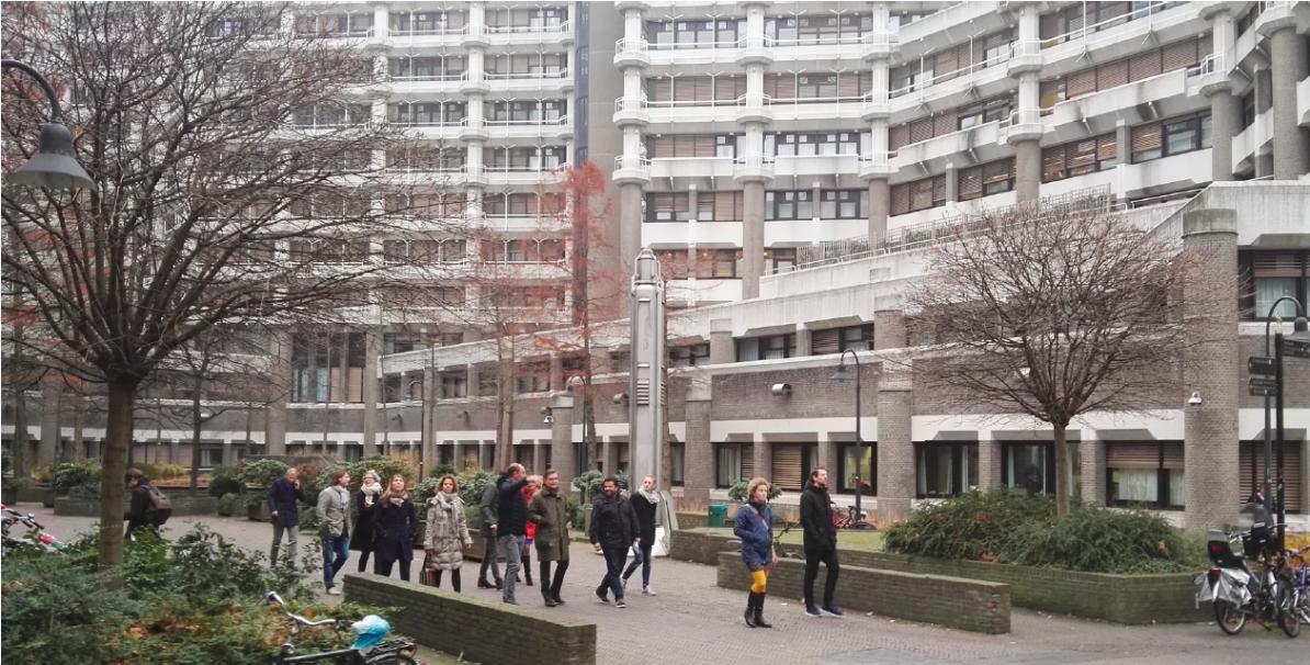 Excursie langs het Ministerie van Buitenlandse zaken op 9 december 2016