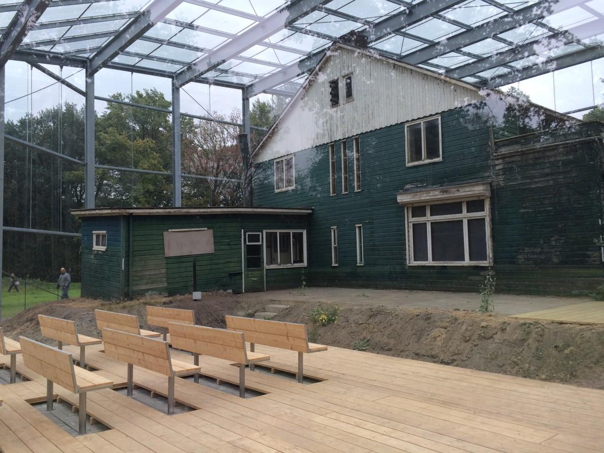 Gemusealiseerde Commandantswoning in voormalig Kamp Westerbork