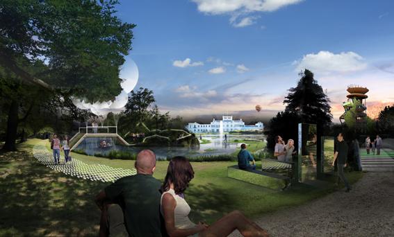Visualisatie Paleis Soestdijk door Made by Holland