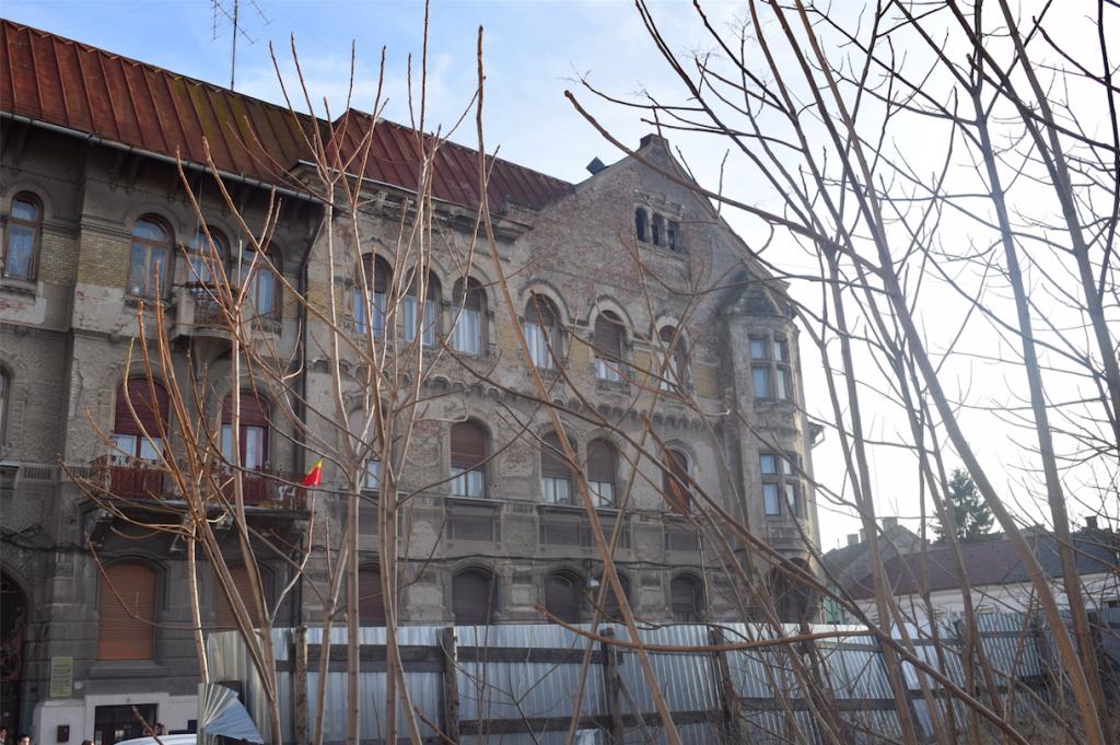 the competition site in Arad, Romania